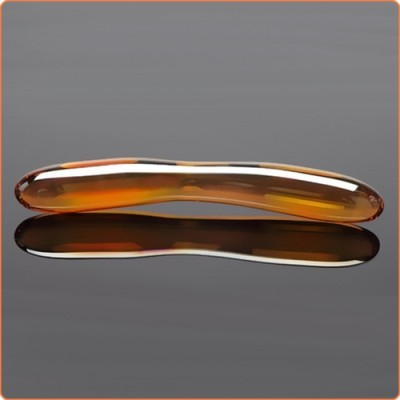 Wholesale Crescent Glass Anal Toy