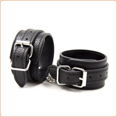 Wholesale Crocodile Pattern Pin Buckle Wrist / Ankle Cuffs