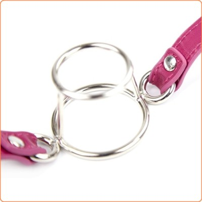Wholesale Double Metal Ring Mouth Gag