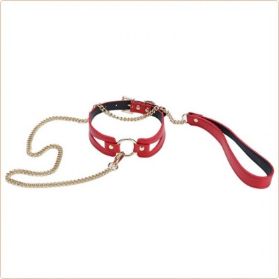 Wholesale O Ring Leather Neck Collar