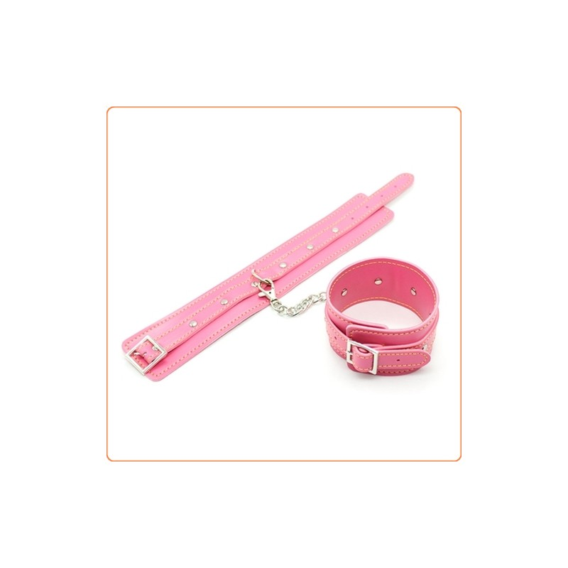 Wholesale One Row Nail Wrist And Ankle Cuffs