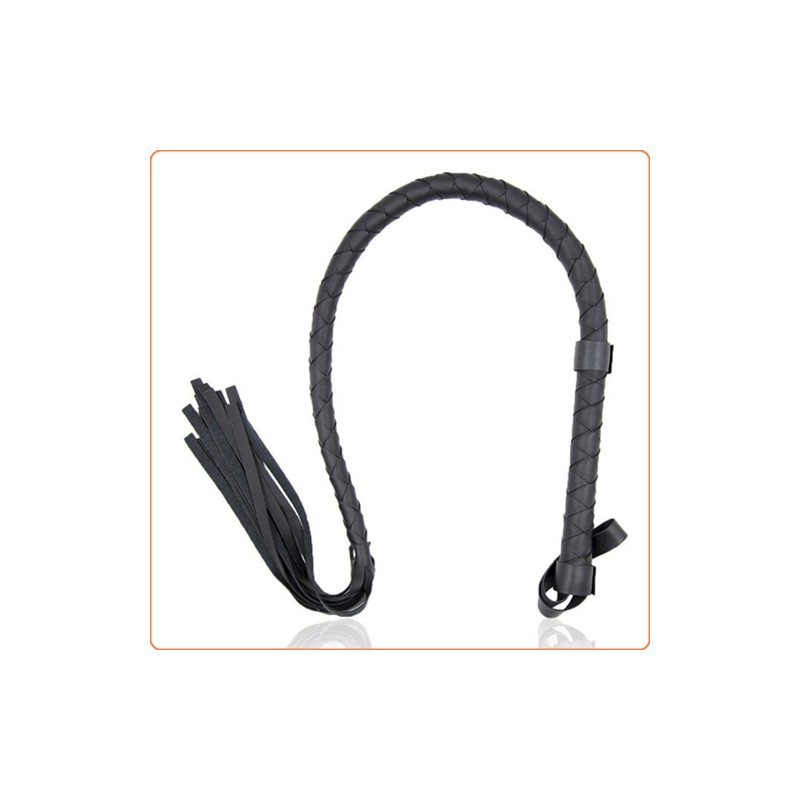 Wholesale Black Single Tail Whip - 85 cm / 33.5 inch