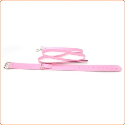 Wholesale Fur Lined Collar with Leash
