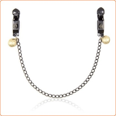 Wholesale Unisex Alligator Nipple Clamps With Bell And Chain