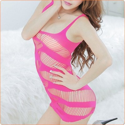 Wholesale Hot Slim Hollow Out Fish Net Skirt For Ladies