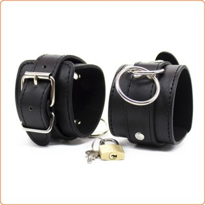 Wholesale Metal O Ring Contact  Wrist and Ankle Cuffs
