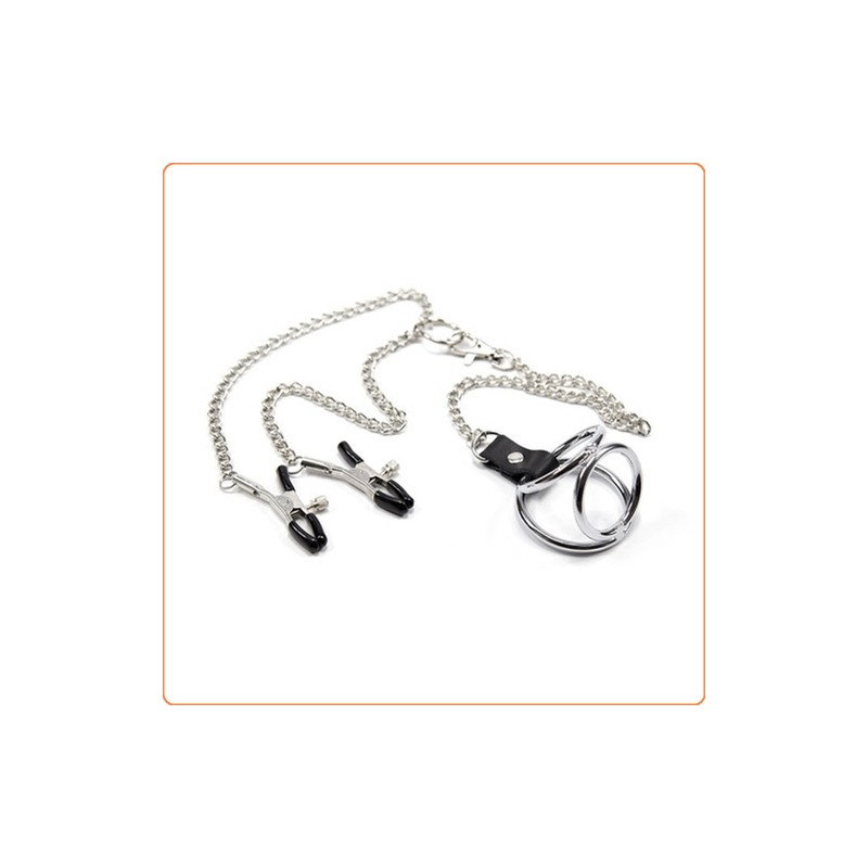 Wholesale Nipple Clamps With Cock Ring