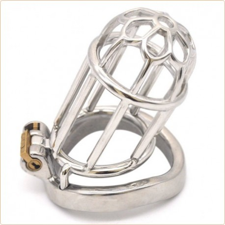 Wholesale Plum Blossom Bend Ring Chastity Device