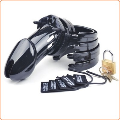Wholesale CB6000 Male Chastity Device Cock Cage - Balck