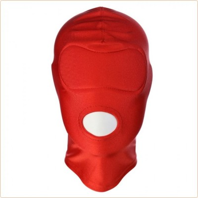 Wholesale Disguise Open Mouth Hood with Padded Blindfold