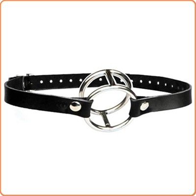 Wholesale Double Metal Ring Gag