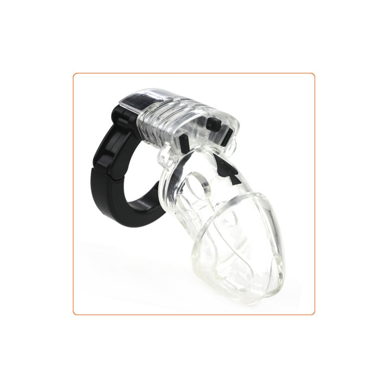 Wholesale Adjustable Male Cock Cuff Chastity Device - Clear
