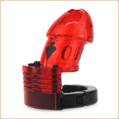 Wholesale Adjustable Male Cock Cuff Chastity Device - Red