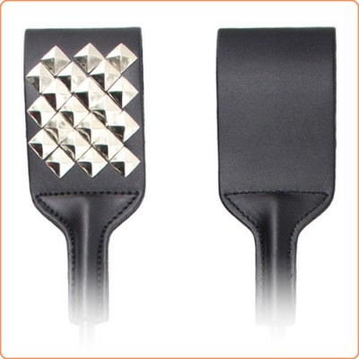 Wholesale Spiked Riding Crop Paddle Slapper
