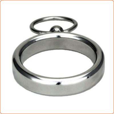 Wholesale Lead Me Stainless Steel Cock Ring