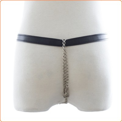 Wholesale Womens Leather Chastity Thong