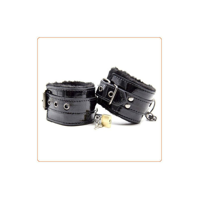 Wholesale Fur Lined Wrist and Ankle Cuffs