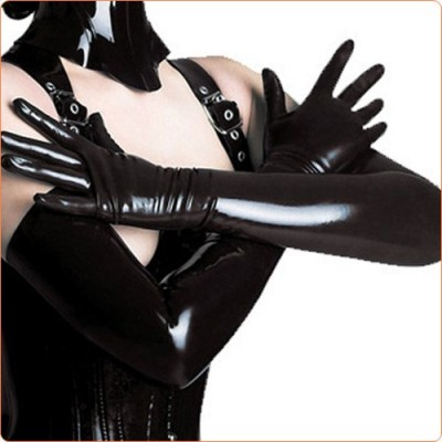 Wholesale Hot Leather Queen Style Sexy Gloves