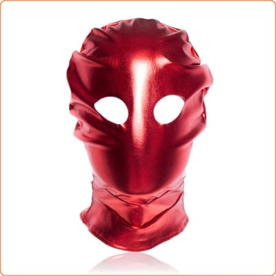 Wholesale Patent Leather Hood with Open Eyes