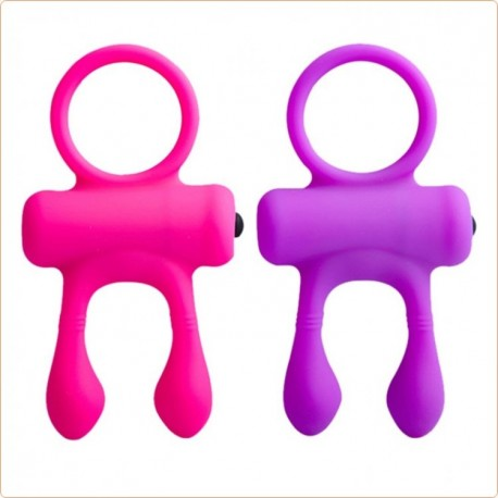 Wholesale Rabbit Silicone Cockring