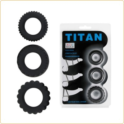 Wholesale Titan Cock Ring Set