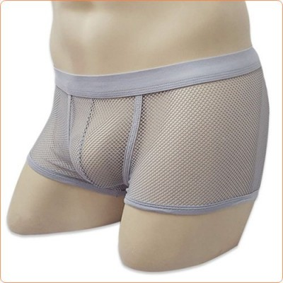 Wholesale Hot Style Transparent Fishnet Boxer Shorts For Men