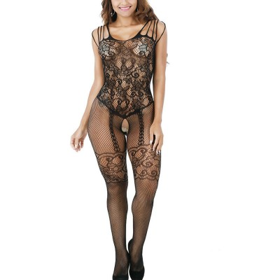 Sexy Crochet Bodystocking