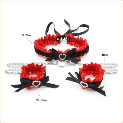 Wholesale Bow Collar With Cuffs
