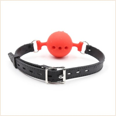Wholesale Full Silicone Breathable Ball Gag