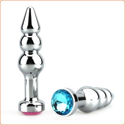 Wholesale Bright Silver Ultimate Aluminum Anal Intruder
