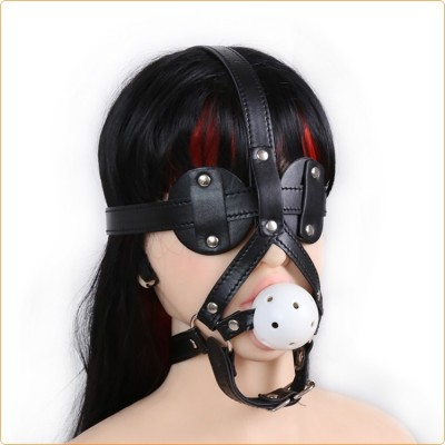 Wholesale Gag with Blinder Eyes Detachable