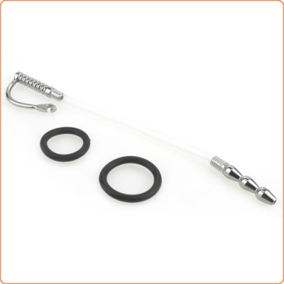 Wholesale Marfan Tube Penis Plug With Silicone Glans Ring