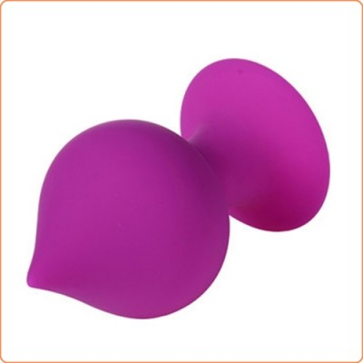 Wholesale Pointed Silicone Butt Plug