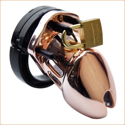Wholesale Rose Gold Male Chastity Cage CB6000 CB6000S
