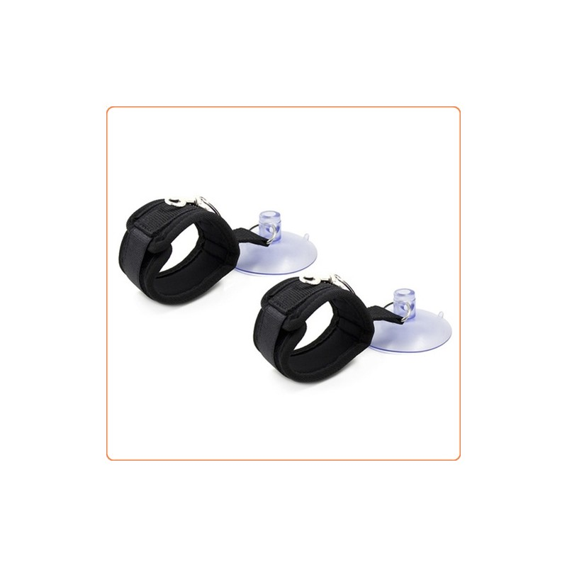 Wholesale Sex in the Shower Suction Handcuffs / Ankle Cuffs