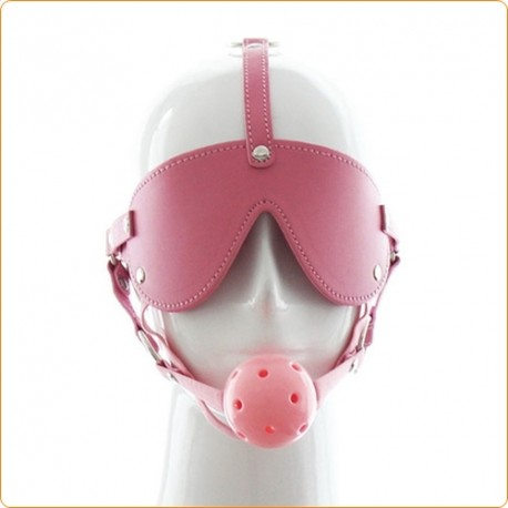 Wholesale Blindfold With Breathable Ball Gag