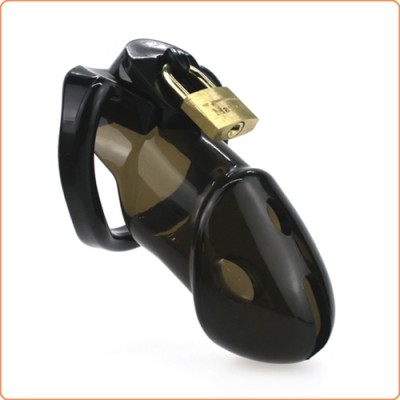 Wholesale Rikers Locking Chastity Device - Black