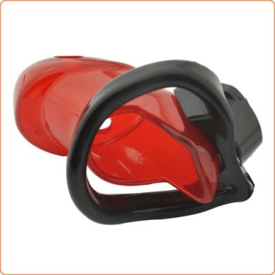Wholesale Rikers Locking Chastity Device - Red