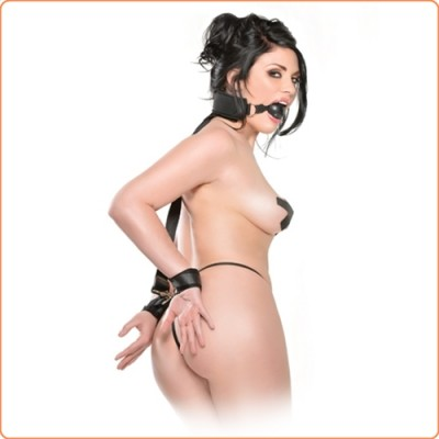 Wholesale Ball Gag and Wrist Restraint System