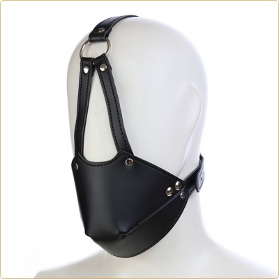 Wholesale Leather Harness With Rubber Gag