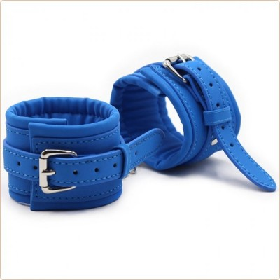 Wholesale Blue Pin Locked Handcuffs
