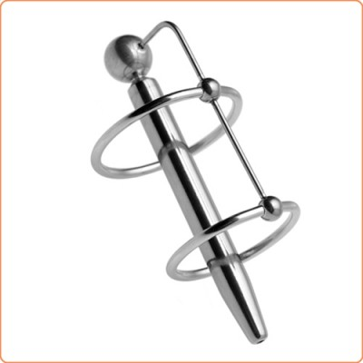 Wholesale Through-Hole Princes Wand with Double Glans Ring