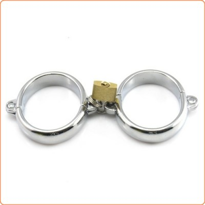 Wholesale Chrome Wrist / Ankle Cuffs with Lock