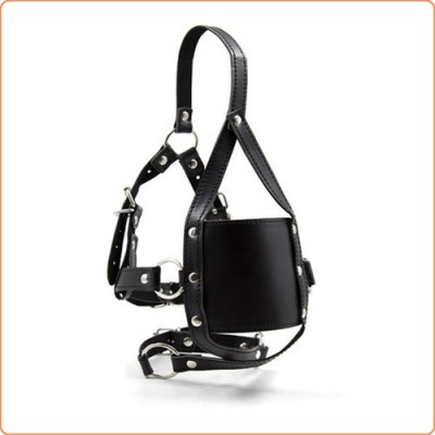 Wholesale Cross Strap Panel Ball Gag Trainer