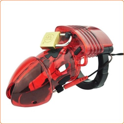Wholesale Electro Sex Chastity Device - Red