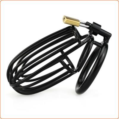 Wholesale Samurai Cock Cage Drooping Chastity Device