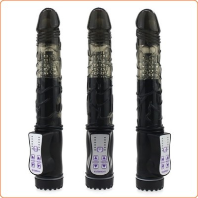 Wholesale Rotation and Vibration Jelly Penis