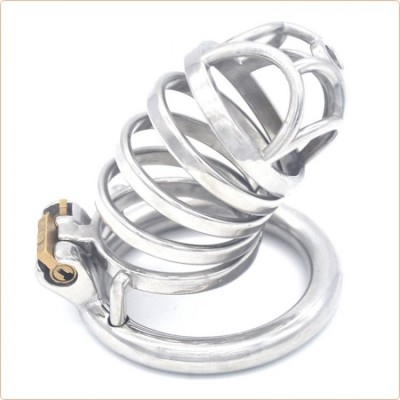 Wholesale Rhombic Male Chastity Cock Cage Device