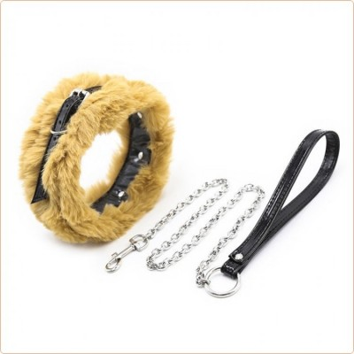 Wholesale Mink Collar With Lead