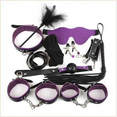 Wholesale Class Fetish Bondage Kit